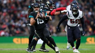 The Jaguars And Texans Traded Horrible Turnovers In The Fourth Quarter In London