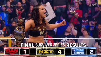Here's How WWE's Brand Wars Played Out At Survivor Series