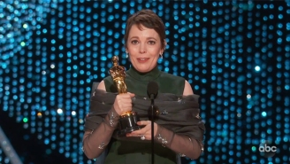 Olivia Colman Says She Was A Little Drunk When She Won Her Oscar