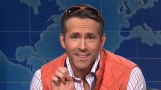 Ryan Reynolds Kept Crashing Will Ferrell's 'SNL' Episode