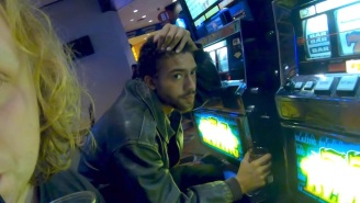 (Sandy) Alex G Goes To A Casino And Almost Drowns In His 'In My Arms' Video