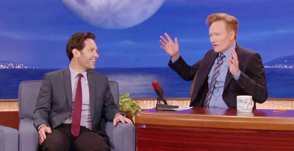 Paul Rudd Reveals The Other Movie He Considered For His 'Mac And Me' Prank On Conan