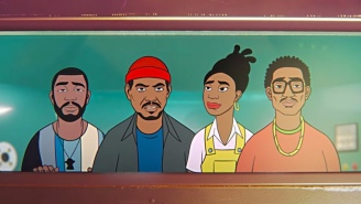 James BKS' Animated 'New Breed' Video Takes Q-Tip, Idris Elba, And Little Simz On A Futuristic Adventure