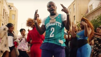 DaBaby's Stages A Flash Mob With The Jabbawockeez In His 'Bop' Musical Video