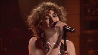 King Princess' Energetic Performances Of 'Hit The Back' And '1950' Were A Lively 'SNL' Debut