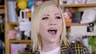 Carly Rae Jepsen Makes Her Tiny Desk Debut With An Expressive Three-Song Performance