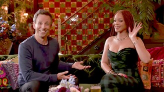 Seth Meyers Thinks Rihanna Is Not A Great Photographer