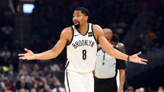 Spencer Dinwiddie Hit A Pull-Up Game-Winner To Beat The Cavs