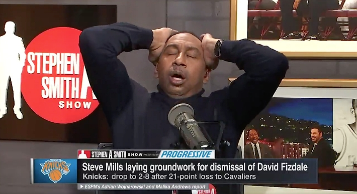 Stephen A. Smith Delivered A Knicks Rant For The Ages After Steve Mills' Press Conference