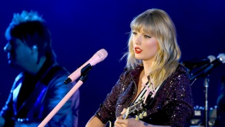 Taylor Swift Performed 'Soon You'll Get Better' For Together On Home Festival's Livestream