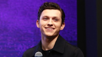 Here's Tom Holland Like You've Never Seen Him In A First Look At The Russo Brothers' 'Cherry'
