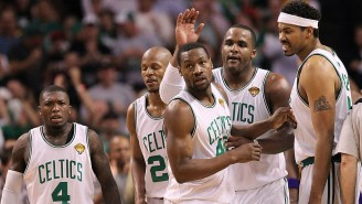 Tony Allen Bonded With Celtics Teammates By Getting Knocked Out