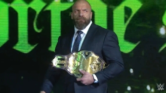 Triple H Responded To Rumors That He'll Wrestle For NXT At Survivor Series