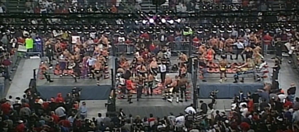 The Best And Worst Of WCW World War 3 1998
