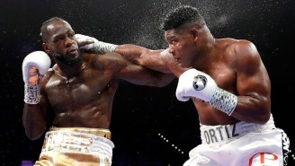Deontay Wilder Retained His Heavyweight Title With A 7th Round KO Of Luis Ortiz