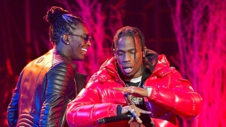 Travis Scott And Young Thug Rekindle Their Chemistry On 'Franchise' With MIA