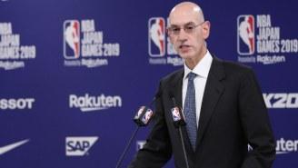 Adam Silver Calls An Olympic Break During The 2020-21 NBA Season 'Unlikely'