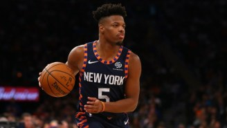 The Knicks' Dennis Smith Jr. Is Reportedly Drawing Trade Interest From 'Several Teams'