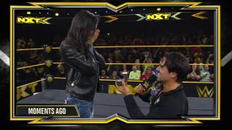 Angel Garza Won A Championship And Proposed To His Girlfriend On NXT