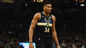 Giannis Antetokounmpo Got World Cup Revenge By Dunking On Memphis Forward Bruno Caboclo