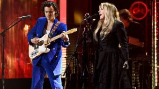 Harry Styles Celebrated His 'Fine Line' Release By Inviting Stevie Nicks To Sing A Duet Of 'Landslide'
