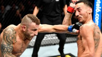 Alexander Volkanovski Dethroned Featherweight Champion Max Holloway At UFC 245