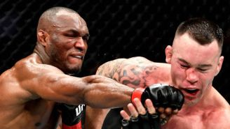Kamaru Usman Finished Colby Covington With A Fifth-Round TKO At UFC 245