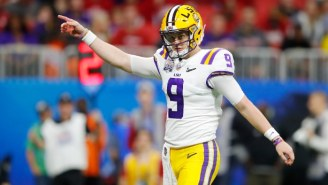 Joe Burrow's Eight Total Touchdowns Led LSU To A Blowout Semifinal Win Over Oklahoma