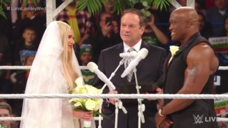 Watch The Highlights From Lana And Bobby Lashley's Disastrous WWE Raw Wedding