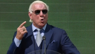 Ric Flair Says He's Cleared To Take Bumps But Vince McMahon Hasn't Let Him