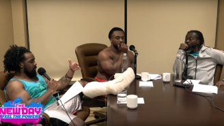 The New Day Discuss Contract Extensions, Injury Updates, And Popping Pills On 'Feel The Power'
