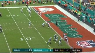 The Dolphins' Kicker Caught A Touchdown On An All-Time Great Fake Field Goal