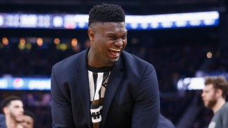Zion Williamson Has Incredible Gator Skin 'Bayou Boys' Jordan 34s For His Debut
