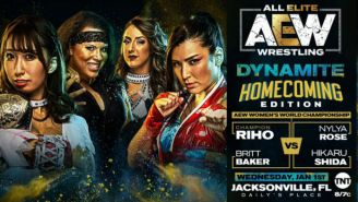 AEW Changed Its New Year's Day Women's World Championship Match