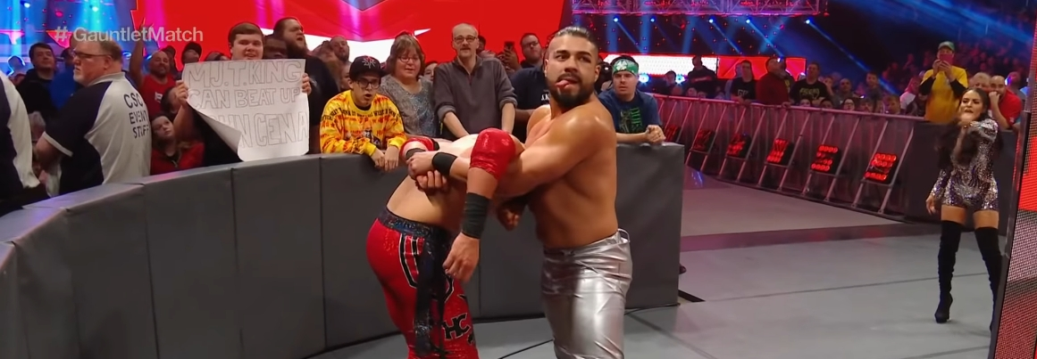 Andrade Has Been Suspended for A WWE Wellness Policy Violation [UPDATED]
