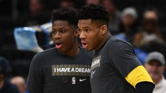 The Antetokounmpo Brothers Did A Jersey Swap After The Bucks Beat The Lakers