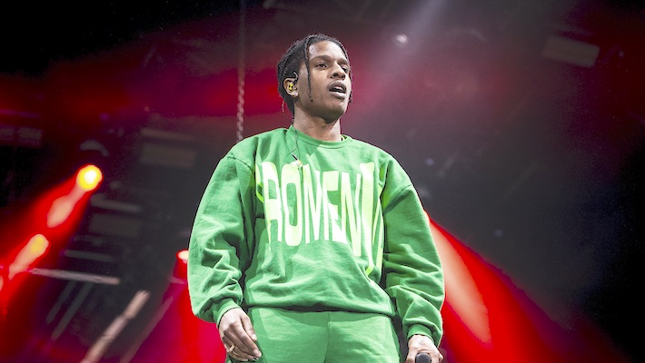 A$AP Rocky Has Hilarious Reaction to Alleged Sex Tape