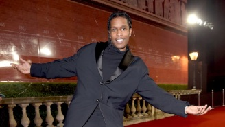 ASAP Rocky Donated Thanksgiving Meals To The Homeless Shelter Where He And His Mom Used To Live