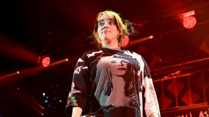 Billie Eilish Responds To The Van Halen Backlash By Throwing Shade At Jimmy Kimmel