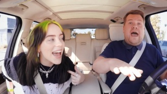 Billie Eilish Joins James Corden On 'Carpool Karaoke' And Talks About Meeting Justin Bieber
