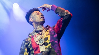 Fans Criticize Blueface For Tossing Money At Homeless People On Skid Row
