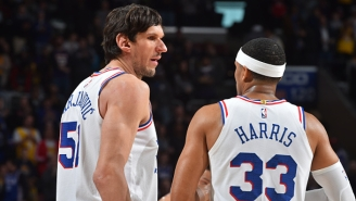 Tobias Harris Hopes To Bring Back 'Bobi + Tobi' With Boban Marjanovic This Summer