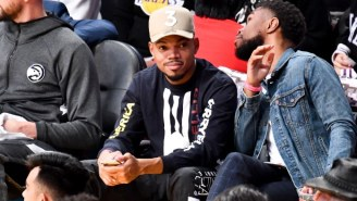 Chance The Rapper Announced He'll Perform The 2020 NBA All-Star Game Halftime Show