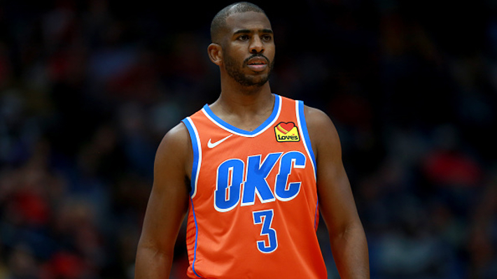 Chris Paul Was 'Shocked' To Find Out The Rockets Traded Him To The Thunder