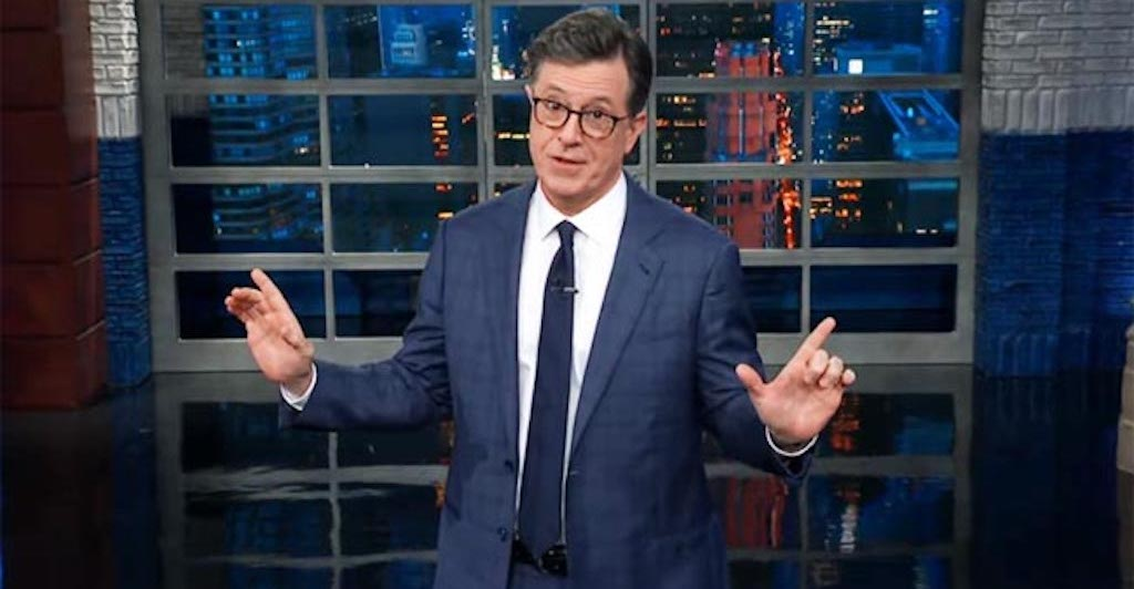 Stephen Colbert And Team Wrote A Jingle In Honor Of Trump's Impeachment Articles