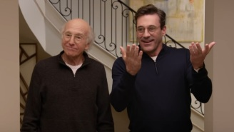 Jon Hamm Really Loves Larry David In The New 'Curb Your Enthusiasm' Season 10 Trailer