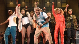 DaBaby Gave Energetic Performances Of His Hits 'Bop' And 'Suge' On 'SNL'