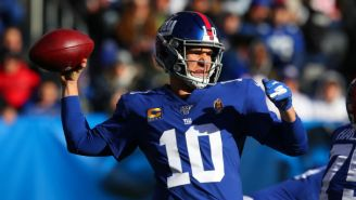 Eli Manning Got A Huge Ovation In What May Be His Final Giants Home Game