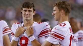 Eli Manning And Daniel Jones Partied Together After Two Straight Giants Wins