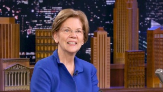 Elizabeth Warren Thinks Everybody Should 'Ease Up On' Billie Eilish For Not Knowing Van Halen